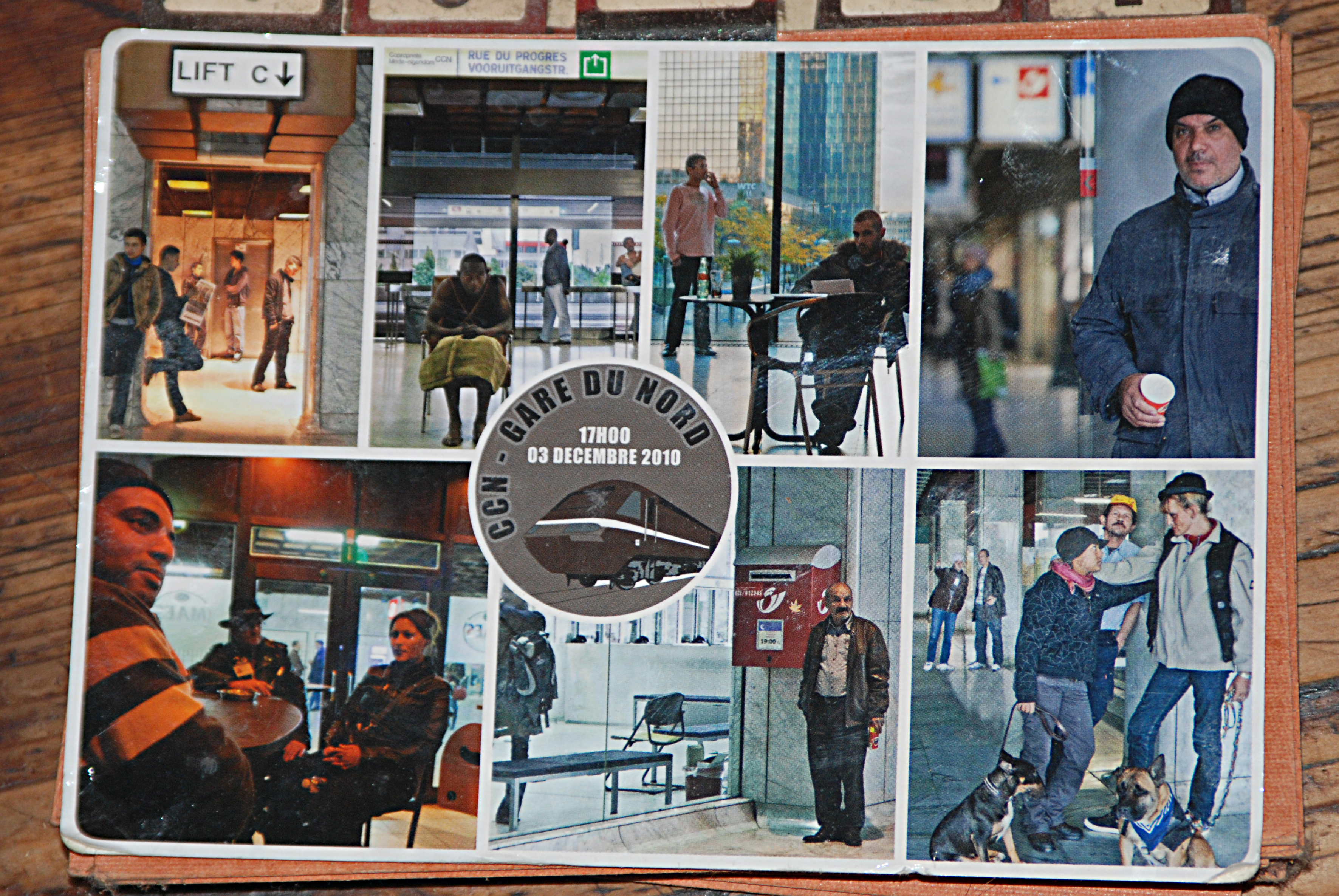 Postcards from the future gare du nord christiane huber for Christiane nord